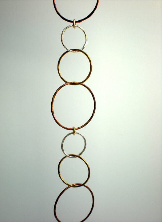 Linked Multi Circle Bracelet